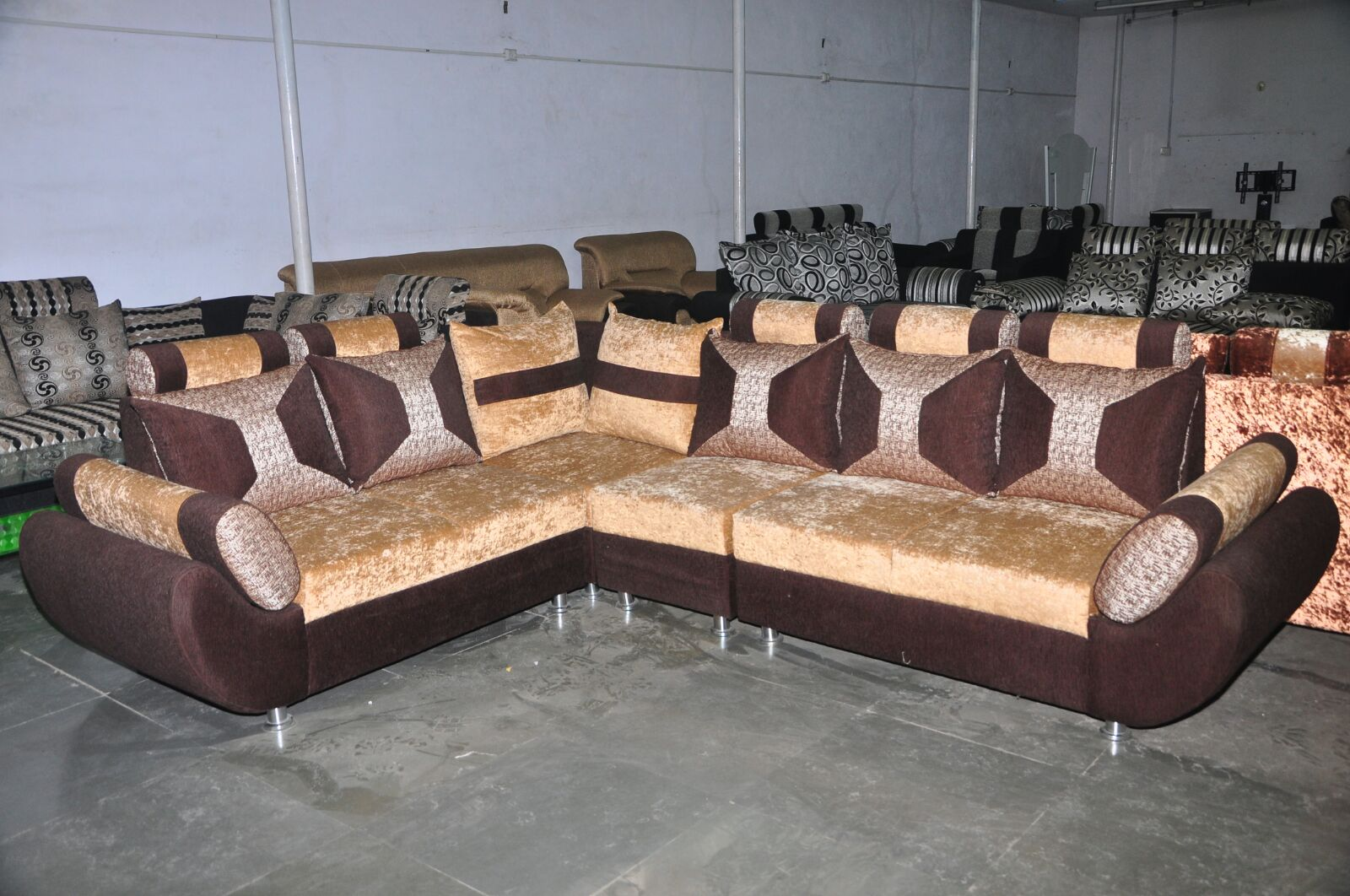 Picture of: L Shape Sofas Jp Furnitures