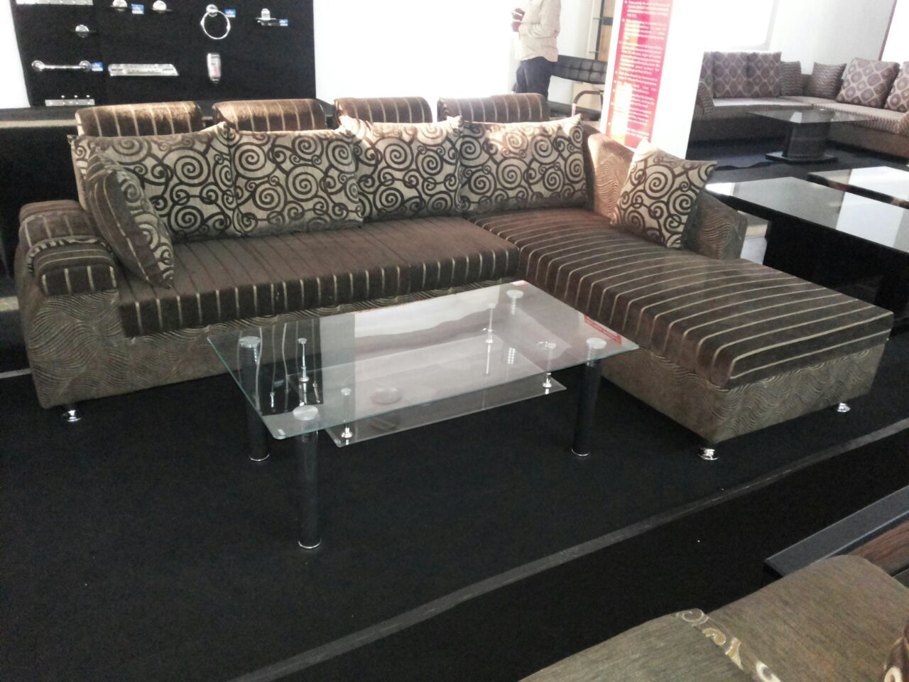 SEMI D Is A Perfect Sofa For The Oneu0027s Who Are Very Particular About Lounger  Design Sofa. Lounger Has A Very Short Back Which Enables A Larger Area In  ...